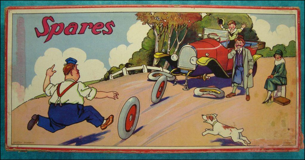 Brettspiel ; Board game ; Jeu de société ;  1925 1935 ; Spares ;
