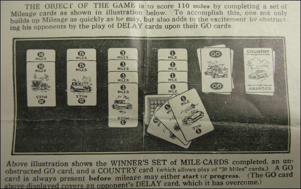 Brettspiel ; Board game ; Jeu de société ; Parker brothers ; 1926 ; Touring