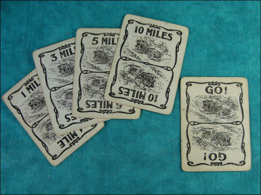 Brettspiel ; Board game ; Jeu de société ; Parker brothers ; 1906 ; Touring
