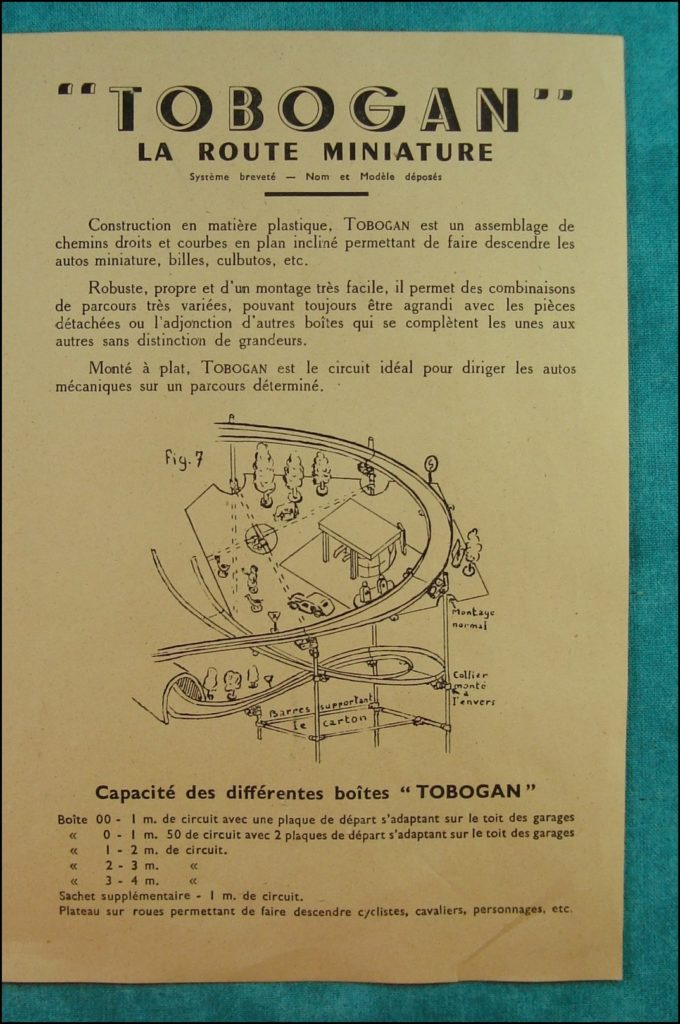 Brettspiel ; Board game ; Jeu de société ; Tobogan ; Tin toy ; Auto Union Avus 1937 ;