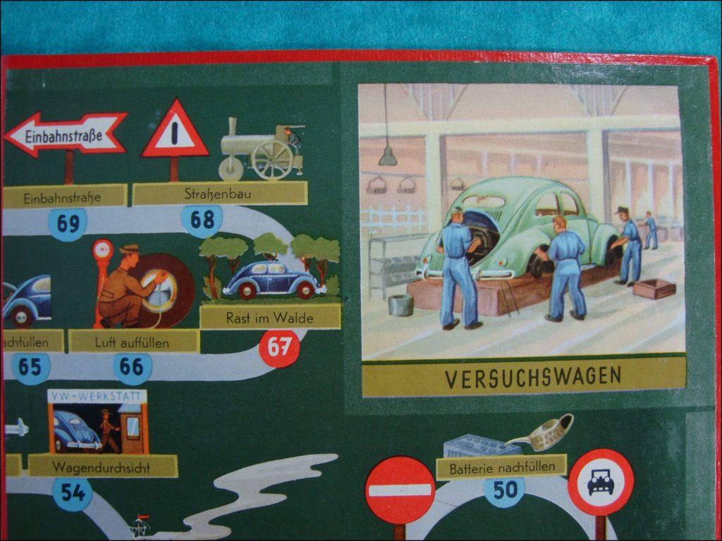 1954 - Dein Volkswagen ; Hausser ; Coccinelle ; Beetle ; split window