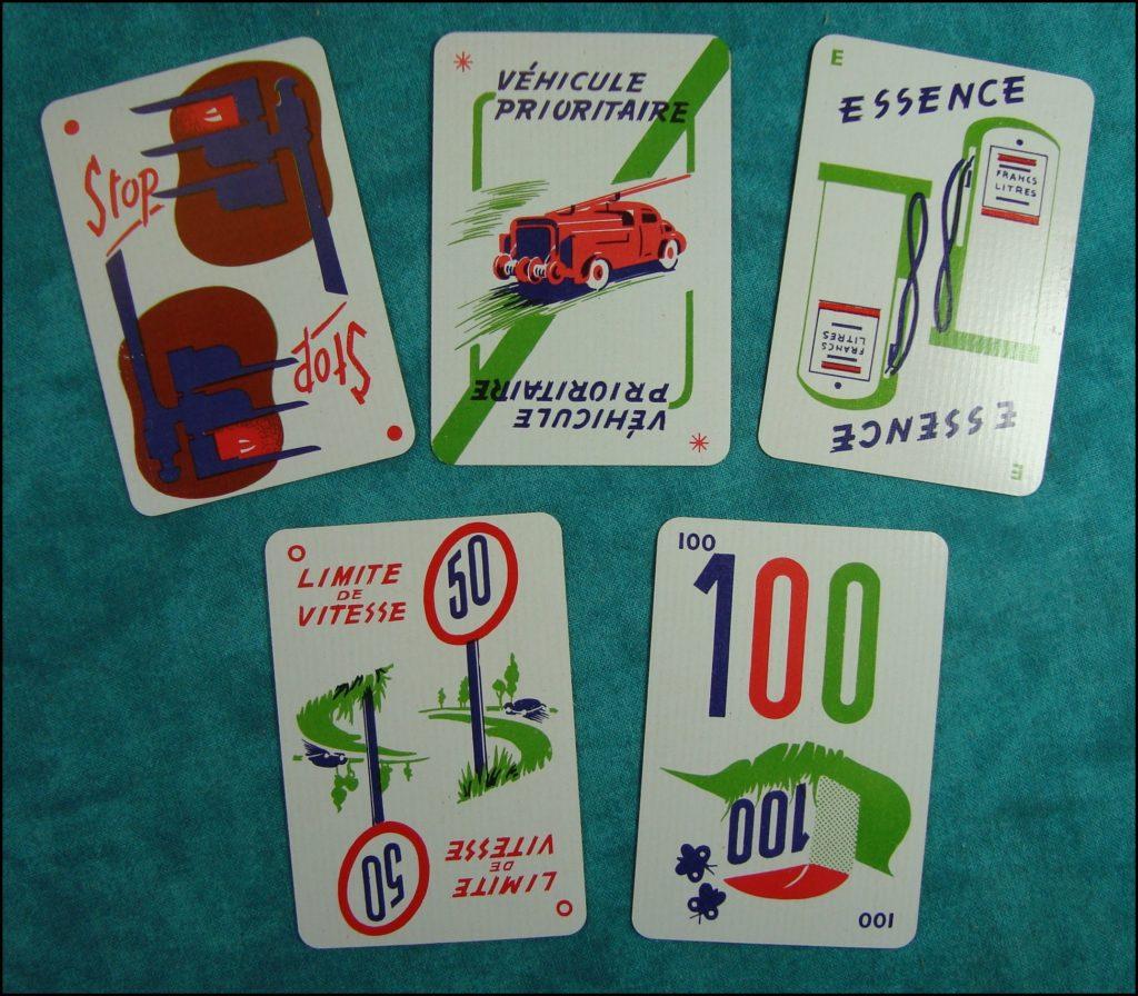 1955 ; 1000 bornes ; Dujardin ; vintage car-themed board game ; ancien jeu de société automobile ; Antikes Brettspiel Thema Automobil Autospiel ;