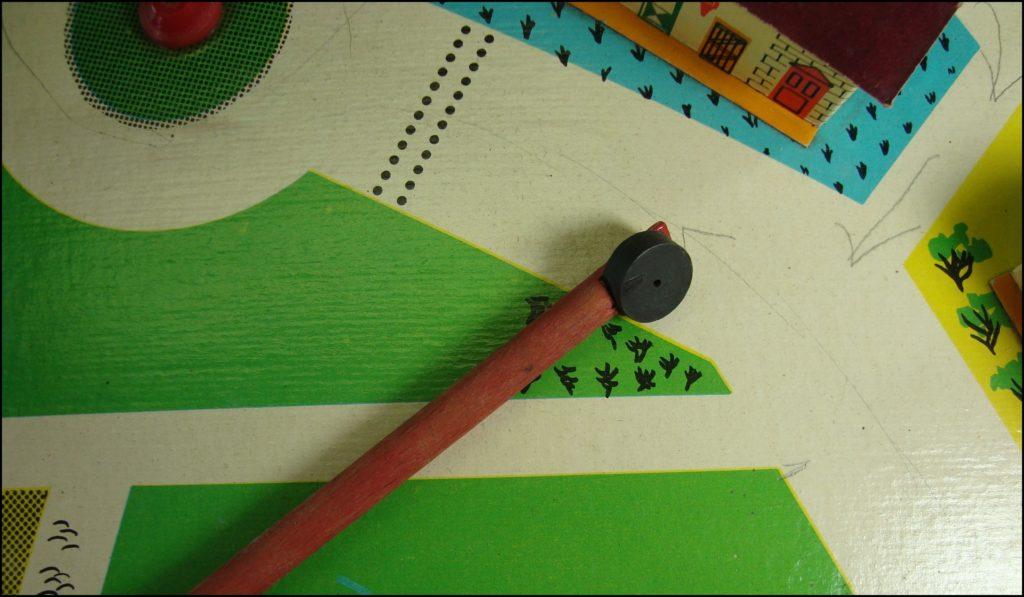1955/60 - Sariville ; Monic ; vintage car-themed board game ; ancien jeu de société automobile ; Antikes Brettspiel Thema Automobil Autospiel ;