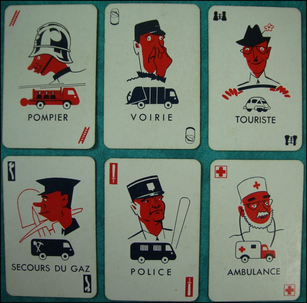 1955/60 - Pin-Pon ; Dujardin ; Isetta Velam ; vintage car-themed board game ; ancien jeu de société automobile ; Antikes Brettspiel Thema Automobil Autospiel ;