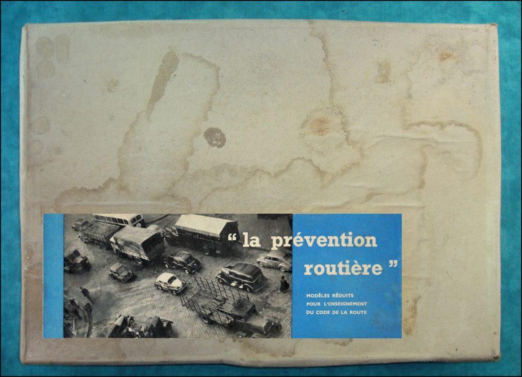 1956 ; Prévention routière ; Bourrelier ; Frégate Minialuxe ; vintage car-themed board game ; ancien jeu de société automobile ; Antikes Brettspiel Thema Automobil Autospiel ;