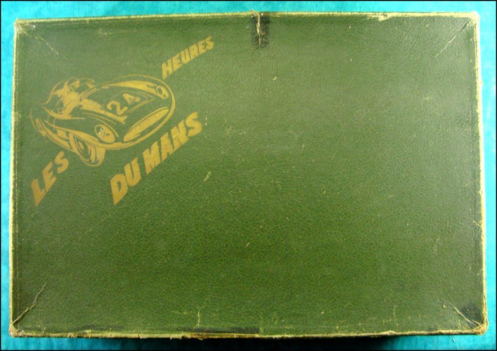 1956 ; Les 24 H. du Mans ; éd. l'Eumail France ; vintage car-themed board game ; ancien jeu de société automobile ; Antikes Brettspiel Thema Automobil Autospiel ;