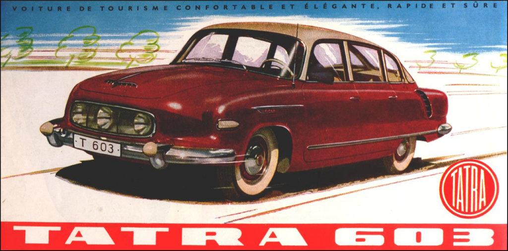 Brettspiel ; Board game ; Jeu de société ; 1959 Rennspiel ; Tatra 603 ; Cadillac ; Chevrolet