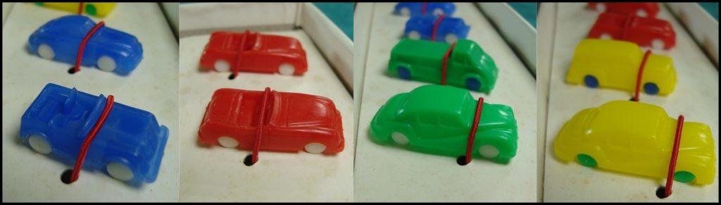 1967/68 - Strada ; Nathan ; Simca 1200 S ; Peugeot 404 ; Citroën DS ; Citroën Ami 6 ; Renault 8 ; 4L ; Volkswagen Coccinelle ; Peugeot 403 ; vintage car-themed board game ; ancien jeu de société automobile ; Antikes Brettspiel Thema Automobil Autospiel ;