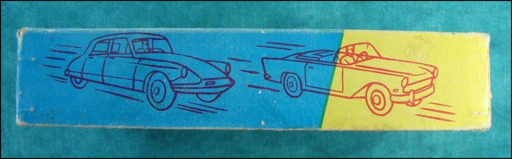 1960 - Loto des voitures ; vintage car-themed board game ; ancien jeu de société automobile ; Antikes Brettspiel Thema Automobil Autospiel ;