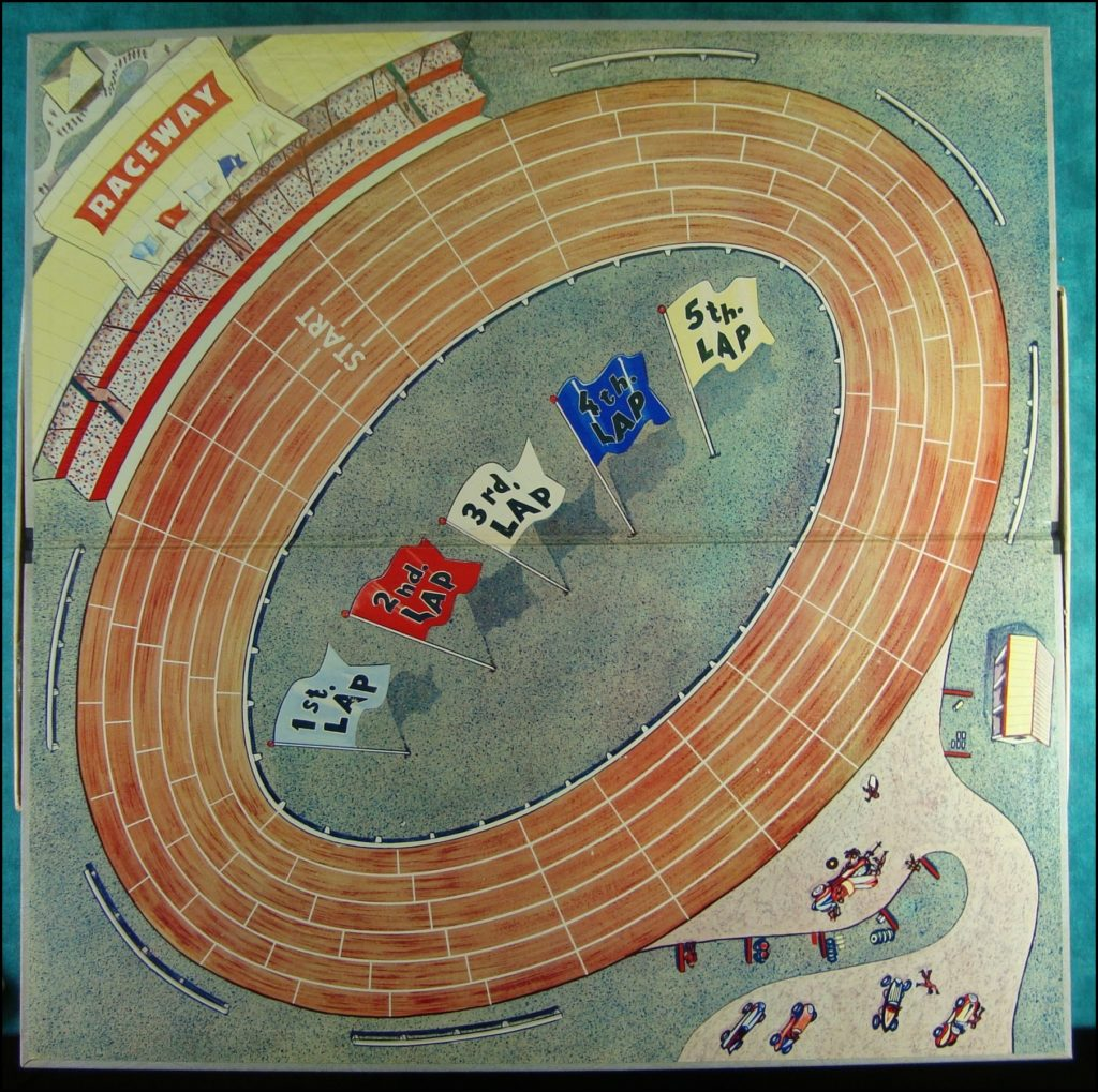 Brettspiel ; Board game ; Jeu de société ; Selchow & Righter ; 1961 ; Straightaway