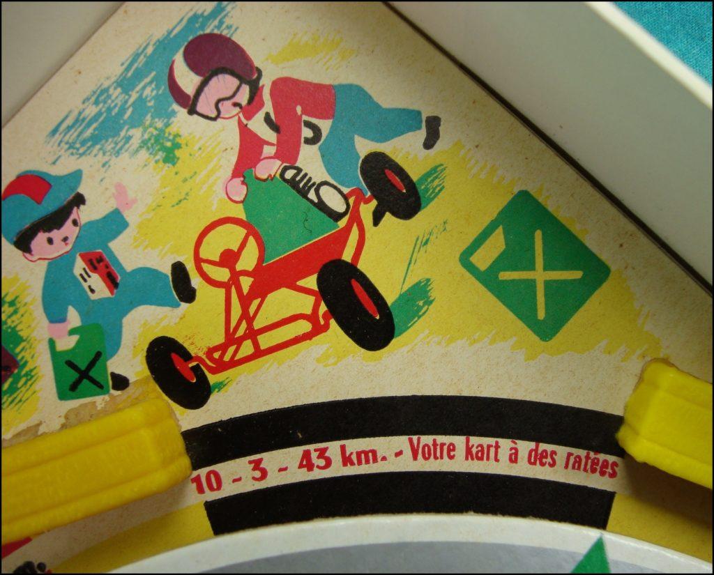 1962 - Karting Junior ; Championnat du monde ; La Tour Saint Denis ; kart karting Cofalu ; vintage car-themed board game ; ancien jeu de société automobile ; Antikes Brettspiel Thema Automobil Autospiel ;