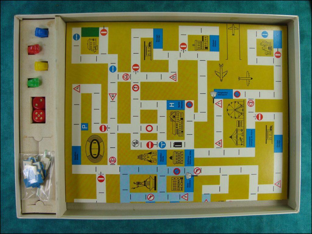 Brettspiel ; Board game ; Jeu de société ; 1962 ; Circulez ! ; Carlit ;