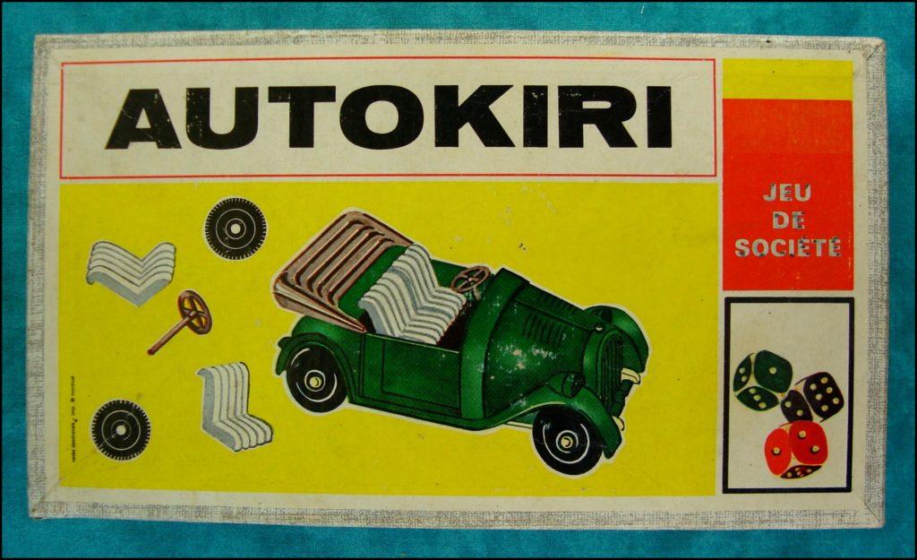 1965 - Autokiri ; Ets Michel ; Brettspiel ; Board game ; Jeu de société ;