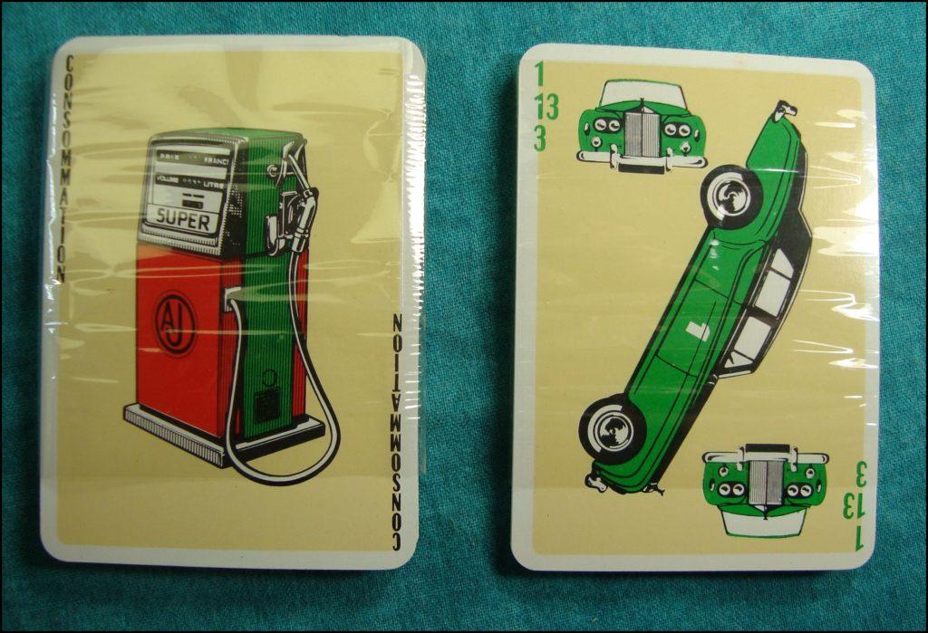 1965 - L'auto Match ; La Ducale ; Rolls Royce ; Bentley ; pompe à essence ; vintage car-themed board game ; ancien jeu de société automobile ; Antikes Brettspiel Thema Automobil Autospiel ;