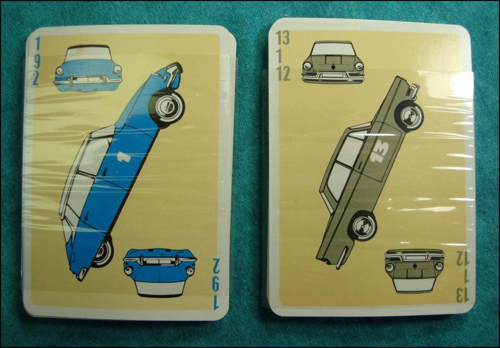 1965 - L'auto Match ; La Ducale ; Citroën DS 19 ; vintage car-themed board game ; ancien jeu de société automobile ; Antikes Brettspiel Thema Automobil Autospiel ;