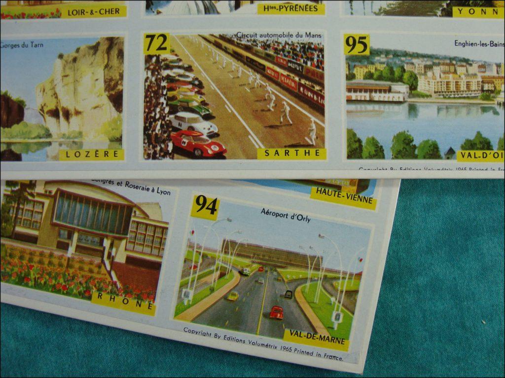 Brettspiel ; Board game ; Jeu de société ; 1965/70 ; Loto Minéralogique ; Volumétrix ;