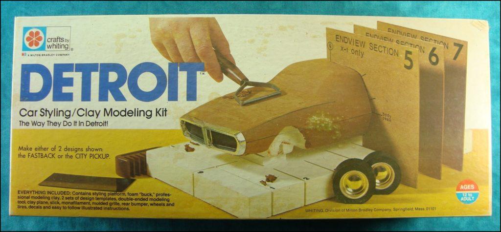 Brettspiel ; Board game ; Jeu de société ; 1973 ; Detroit Car Styling ; Milton Bradley ; MB ; concept car ; design ;