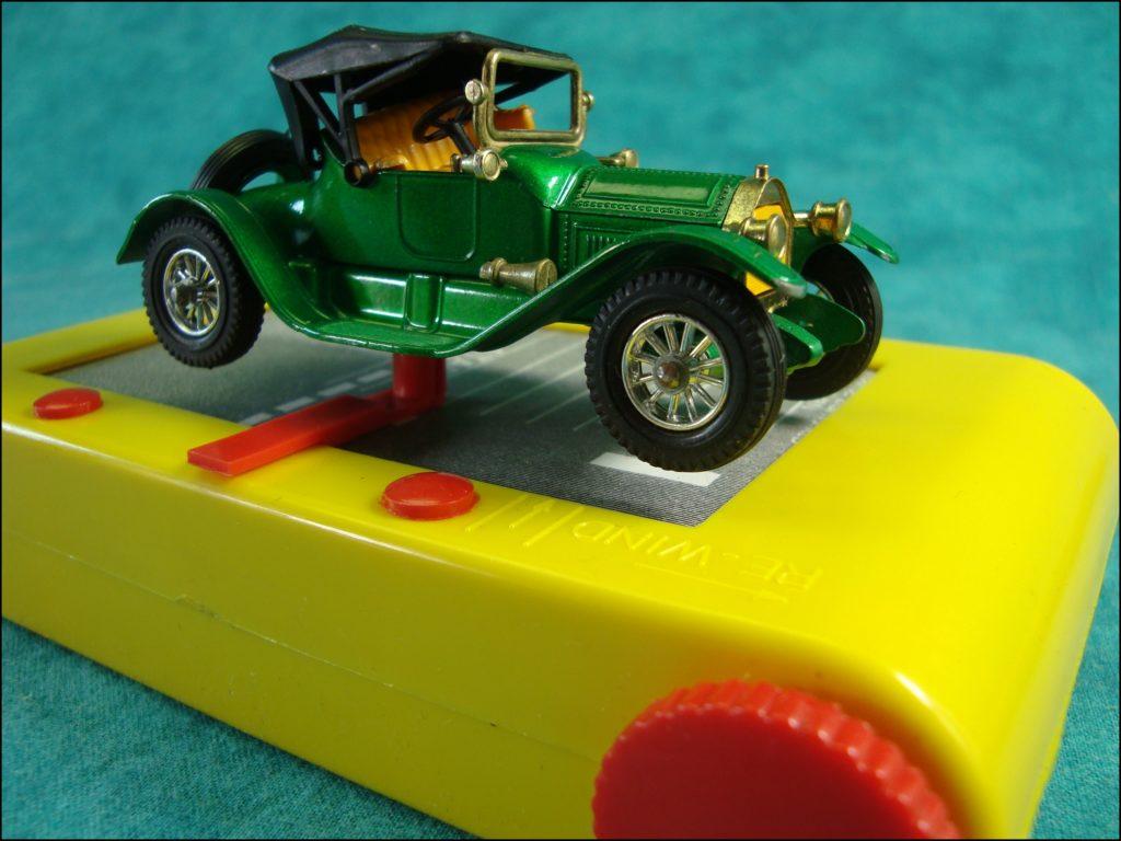 ; Spyker 1904 ; R.A.C. ; Royal Automobile Club ; Brettspiel ; Board game ; Jeu de société ; 1973 ; London to Brighton ; Fernel ; Matchbox Model of Yesteryear ; 1/43 ; Rolls Royce Silver Ghost 1907 ; Cadillac 1913 ;