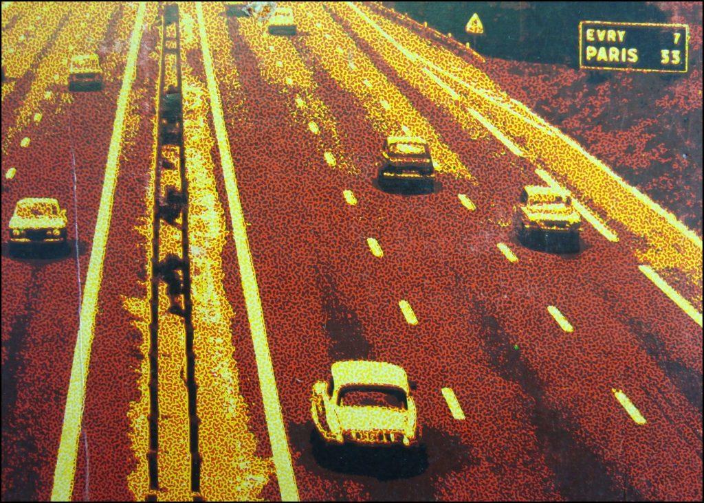 1974 ; Le jeu du Code ; éd. AFT ; Renault 5 ; Citroën DS ; vintage car-themed board game ; ancien jeu de société automobile ; Antikes Brettspiel Thema Automobil Autospiel ;