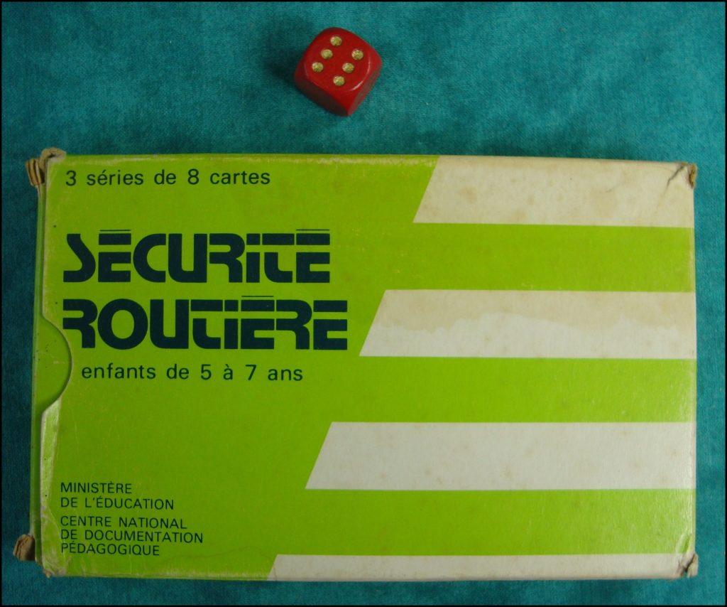 1975/80 ; Sécurité routière ; éd. Ministère de l'Education ; vintage car-themed board game ; ancien jeu de société automobile ; Antikes Brettspiel Thema Automobil Autospiel ;