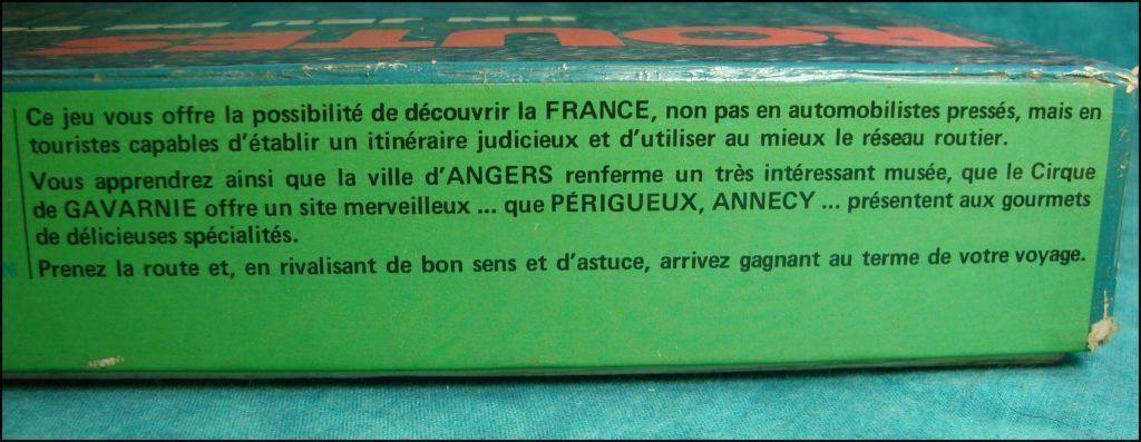 1975 - Routes de France ; Nathan ; Ford Escort ; Fiat 128 ; vintage car-themed board game ; ancien jeu de société automobile ; Antikes Brettspiel Thema Automobil Autospiel ;