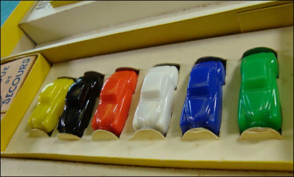 1956 ; L'autoroute ; Dujardin ; André Bayhourst ; vintage car-themed board game ; ancien jeu de société automobile ; Antikes Brettspiel Thema Automobil Autospiel ;
