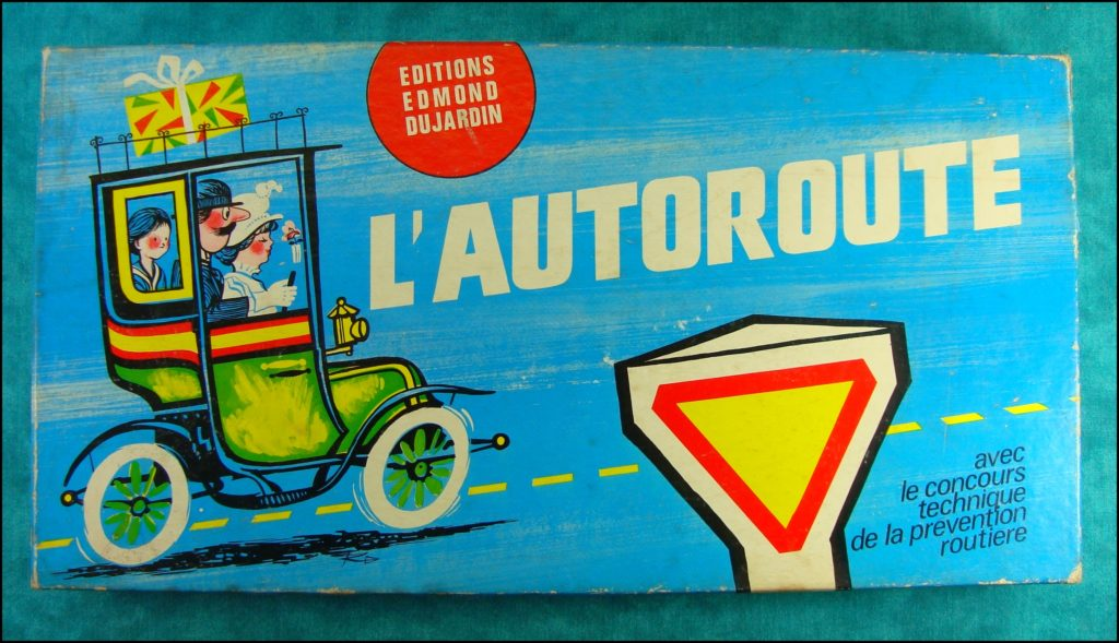 1970/80 - L'autoroute ; Dujardin