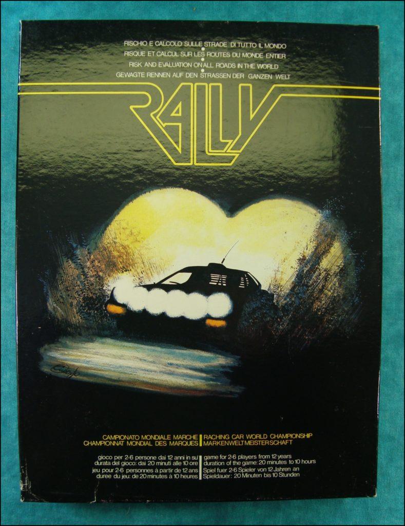 Brettspiel ; Board game ; Jeu de société ; International Team ; 1980 ; Rally ; Lancia Stratos ;