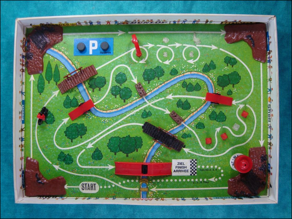 Brettspiel ; Board game ; Jeu de société ;  1980 ;  Moto cross  ; Magneto ;