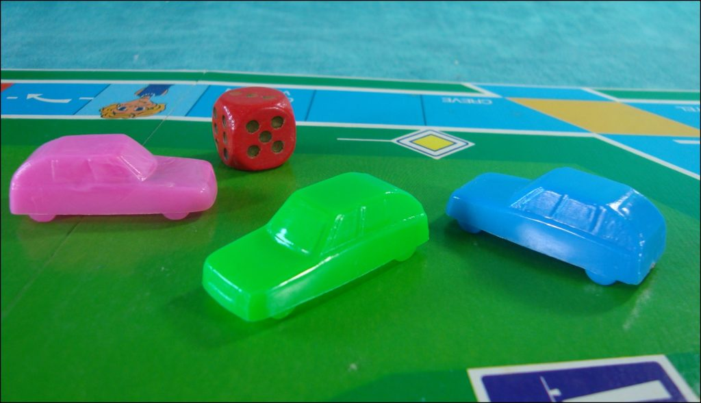 Brettspiel ; Board game ; Jeu de société ; 1990-2000 ; L'autoroute ; Dujardin