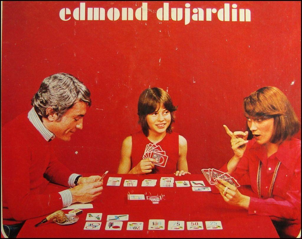 1970/75 - 1000 bornes, modèle de luxe ; Dujardin ; vintage car-themed board game ; ancien jeu de société automobile ; Antikes Brettspiel Thema Automobil Autospiel ;
