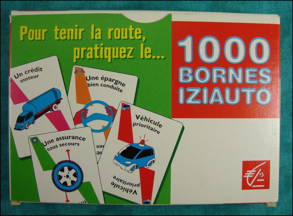 2002 - 1000 bornes Caisse d'Epargne ; Dujardin ; vintage car-themed board game ; ancien jeu de société automobile ; Antikes Brettspiel Thema Automobil Autospiel ;