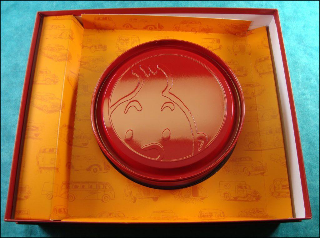 2013 - Mille Bornes Tintin ; Dujardin ; Hergé ; Moulinsart ;  vintage car-themed board game ; ancien jeu de société automobile ; Antikes Brettspiel Thema Automobil Autospiel ;