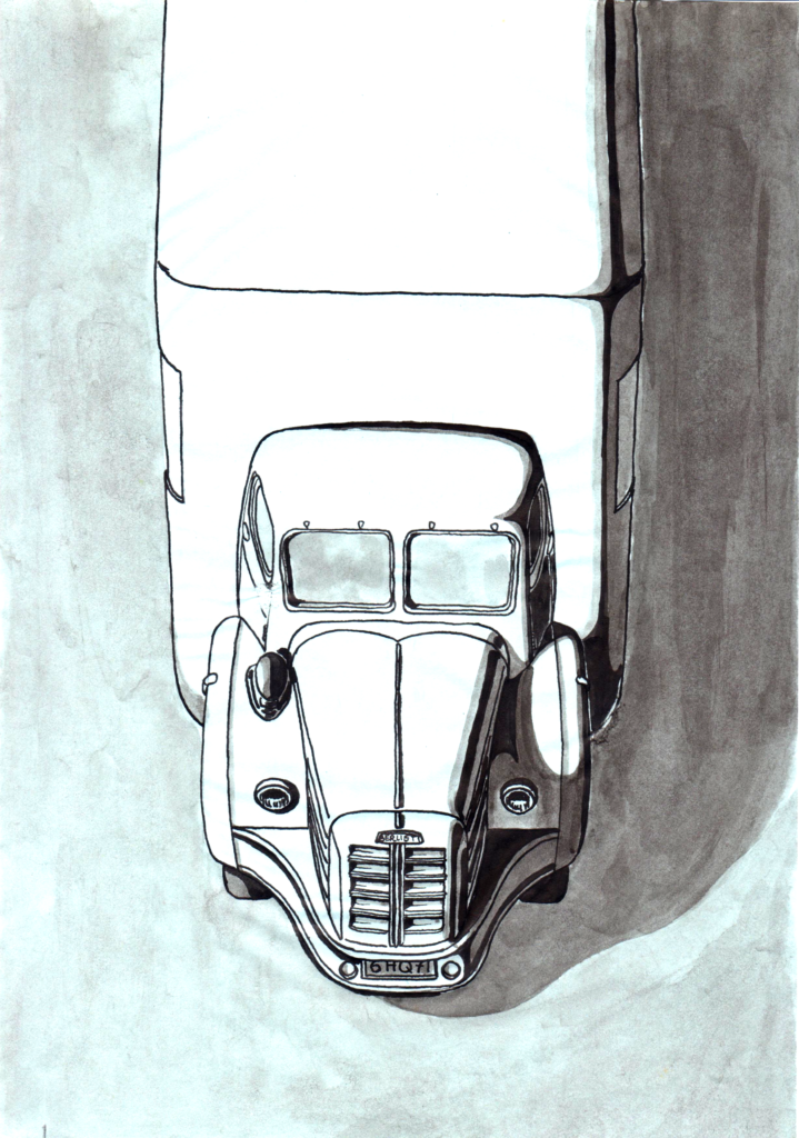Les jeux vintage et l'Automobile ; Pagerolau ; dessins ; art work ; drawing ;