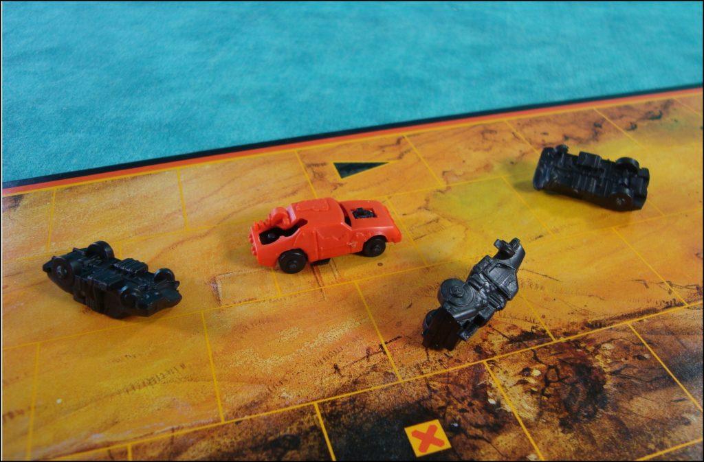 Brettspiel ; Board game ; Jeu de société ; 1986 ; Le survivant ; MB ; Milton Bradley ; Mad Max