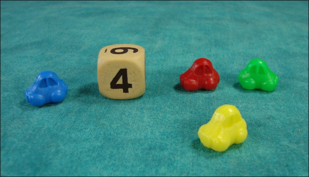 Brettspiel ; Board game ; Jeu de société ; 1975 1980 ; Feu rouge feu vert ; Nathan ; Jeep