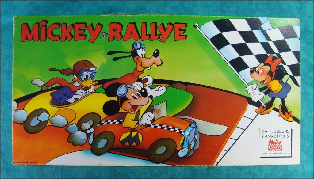 Brettspiel ; Board game ; Jeu de société ; 1979 ; Mickey Parade ; éd. Miro ; Pluto ; Minnie Mouse ; Donald Duck ; Mickey Mouse ; Disney