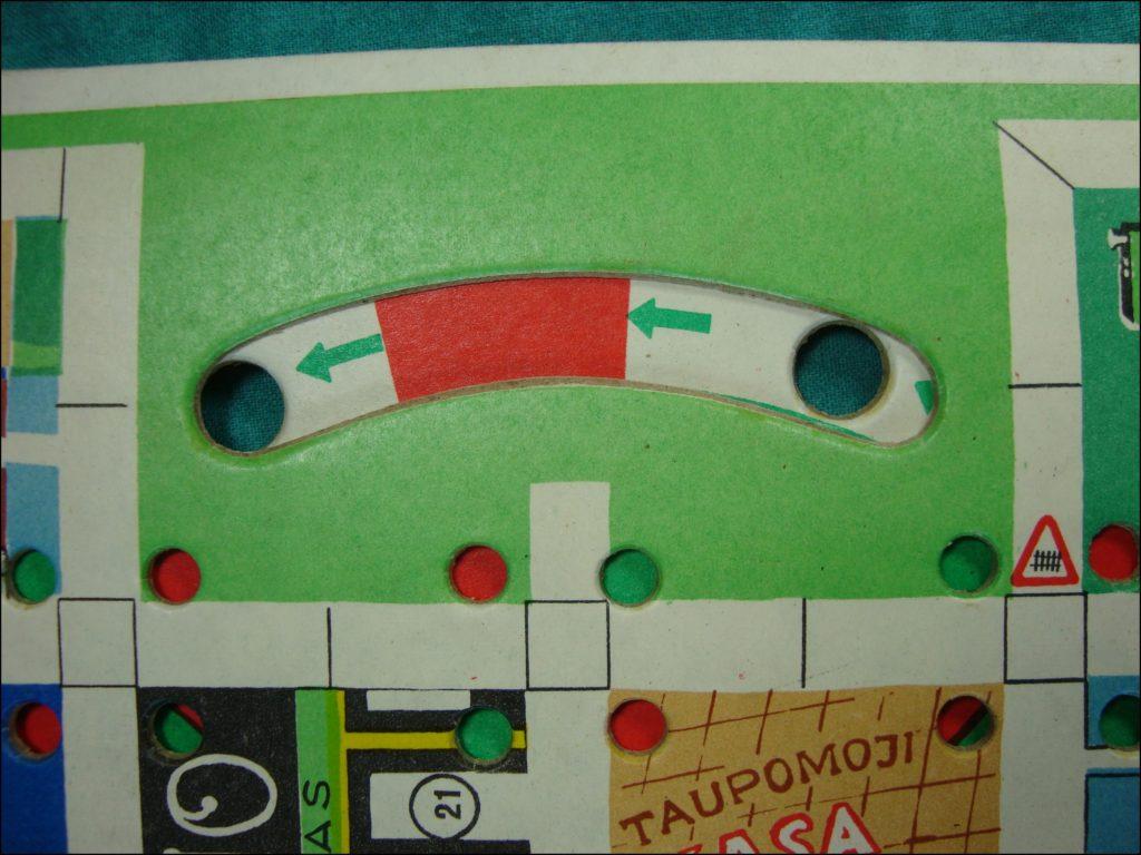 Brettspiel ; Board game ; Jeu de société ; 1978 ; Teisingai vairuok ! ; Lettonie ; URSS
