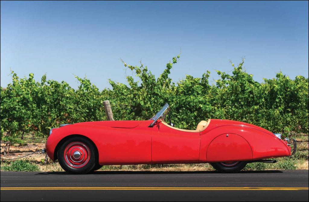 1950-55 ; Touring Europe ; Geographia ; Jaguar XK 120 ; vintage car-themed board game ; ancien jeu de société automobile ; Antikes Brettspiel Thema Automobil ;