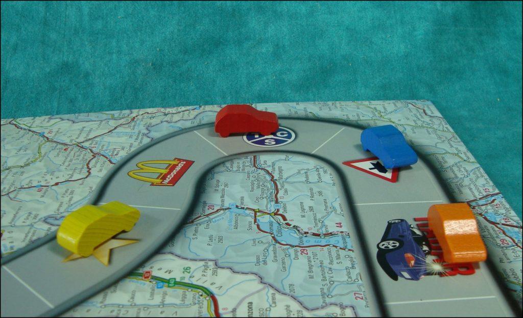 1991 ; Traffic ; Carlit ; Porsche Boxster Siku ; Smart ; Toyota MR2, Yaris  ; Opel Speedster, Vectra GTS, Zafira OPC ; Porsche 911, Boxster ; VW Lupo, Passat ; Lexus ; Seat Leon, Arosa ; Audi A2, A4, TT; Daihatsu Terios et YRV ; Volvo C70 et XC90 ;  Peugeot 206 ; Skoda Fabia ; vintage car-themed board game ; ancien jeu de société automobile ; Antikes Brettspiel Thema Automobil ;