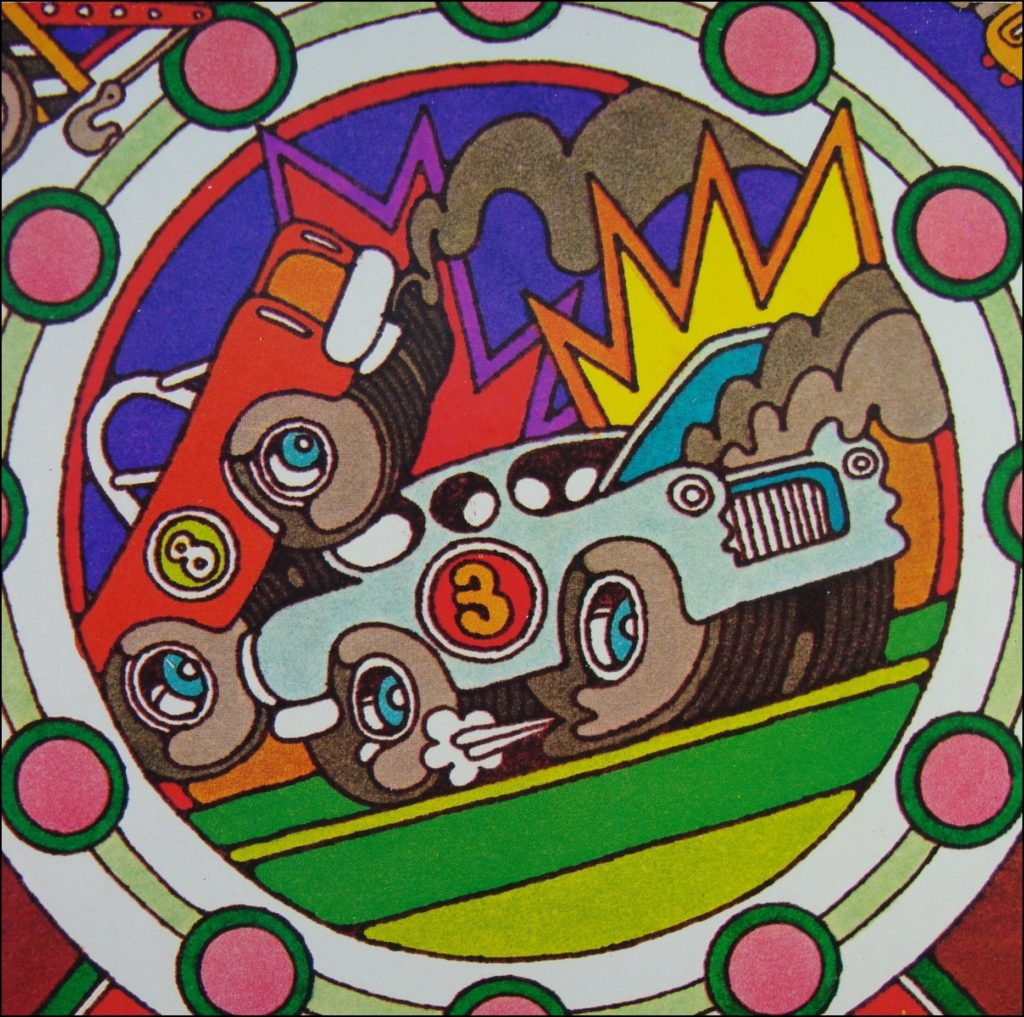 1975 ; Race Around Game ; Whitman ; Studebaker Commander Starlight ; vintage car-themed board game ; ancien jeu de société automobile ; Antikes Brettspiel Thema Automobil ;